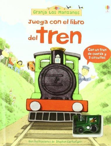 JUGAR CON EL LIBRO DEL TREN (Granja Los Manzanos)