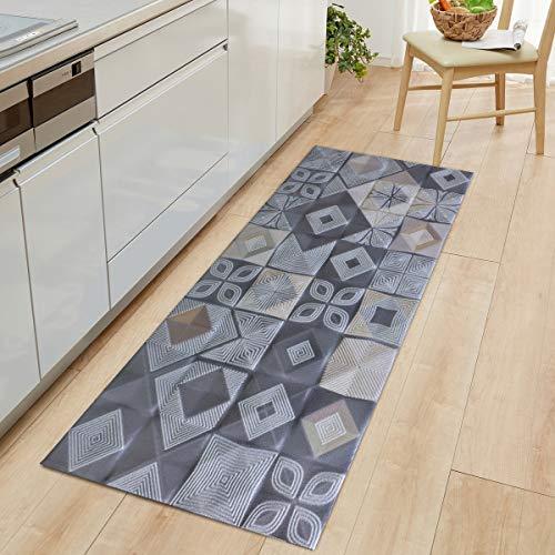 OPLJ Alfombra de Cocina Bohemia Alfombra Antideslizante Alfombra de Puerta Alfombra alfombras de Puerta alfombras al Aire Libre para el hogar alfombras A5 40x120cm