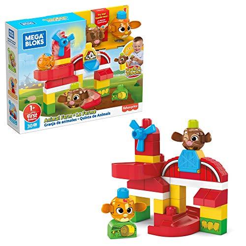 Mega Bloks Granja de Animales (Mattel GRJ18)