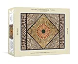 Mosaic Mind Bender 500-Piece Puzzle: An Ancient Roman Mosaic Jigsaw Puzzle & Mini-Poster