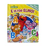Sesame Street: E Is for Elmo! (First Look and Find) one year old boys gifts Dec, 2020