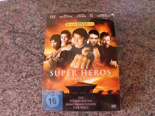 5 Filme DVD - Box - SUPER HEROS COLLECTION