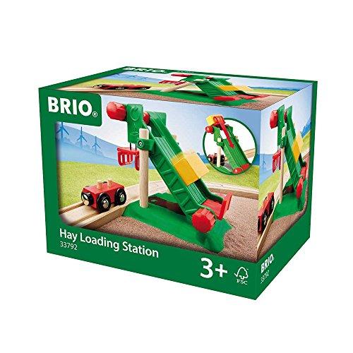 BRIO World 33792 - Heuballen-Verladestation