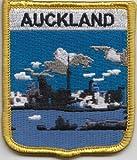 Aufnäher Neuseeland, Auckland-Flagge, bestickt