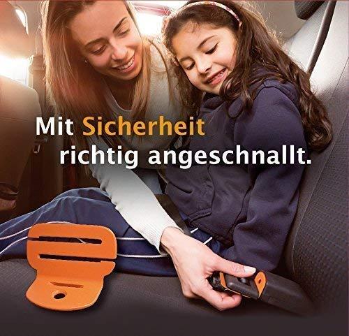 Abschnallschutz mit NOTFALLENTRIEGELUNG, Kinderabschnallschutz Gurtsicherung Beltlock