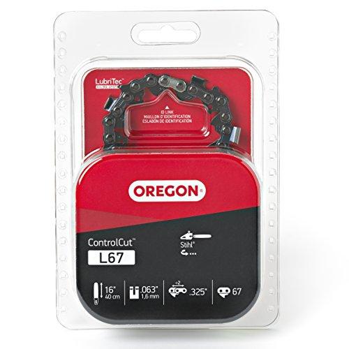 Oregon L67 ControlCut 16-Inch Chainsaw Chain, Fits Stihl , grey