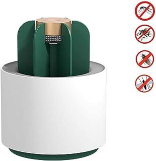Jieer Lámpara Antimosquitos, Cactus Electric USB Luz Ultravioleta Trampa Repelente de Mosquitos Inodoro Sin Olor, Inodoro Exterior Lámpara Antiinsectos para Uso Doméstico en Interiores