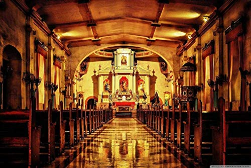 Puzzles Adultos 1000 Piezas Rompecabezas Iglesia De San Jacobo Apóstol