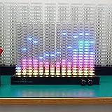 enweQVQ Audio Spectrum, Analizzatore Spettro, Design A Luce Morbida Crea Un'atmosfera, Equalizzatore...