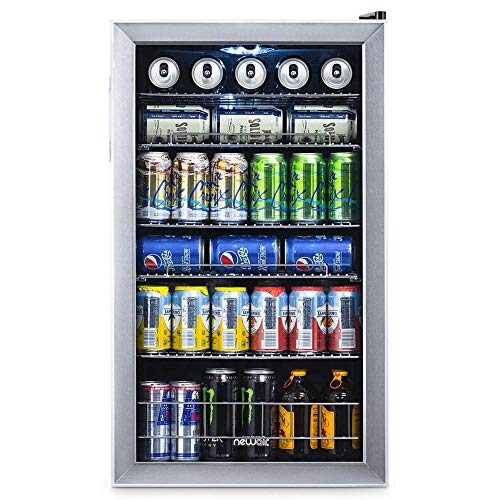 NewAir 126 Can Freestanding Beverage Fridge
