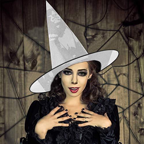 AISFGBJ Terminator Film Script Silhouette Witch Hat Halloween Unisex Disfraz para da festivo Halloween Navidad Carnavales Fiesta