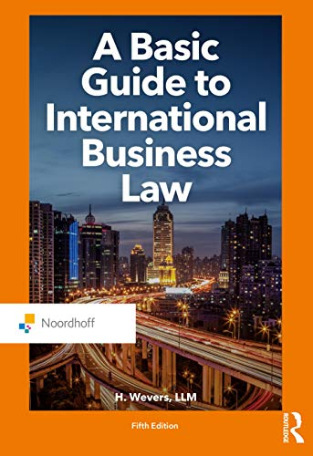 A Basic Guide to International Business Law, 5th Edition Front Cover
