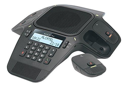 Alcatel Conference 1800 Konferenztelefon DECT inkl. Mobilteil Schwarz, Blau