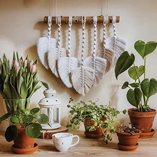 Tapiz de macramé para pared, diseño bohemio, decoración de fiesta mexicana