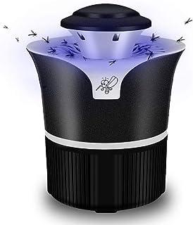 GJNVBDZSF Lámpara Anti-Mosquitos Asesino electrónico de Insectos con luz Ultravioleta Trampa para Moscas sin venenos sin radiación