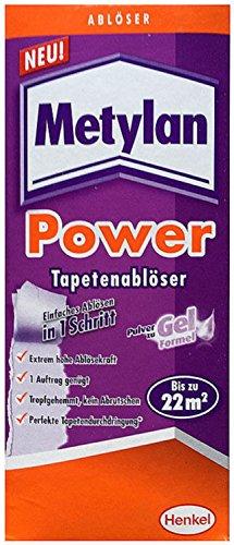 METYLAN Power Tapetenablöser 200g Ablöser Pulver zu Gel Formel Henkel