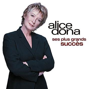 Les plus grands succès d'Alice Dona