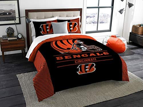 The Northwest Company NFL Cincinnati Bengals King Comforter and Shams Set