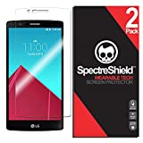 [2-Pack] Spectre Shield Screen Protector for LG G4 Case Friendly LG G4 Screen Protector Accessory TPU Clear Film