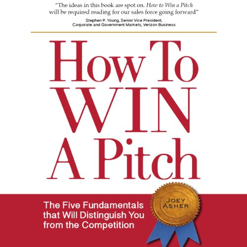 How to Win a Pitch audiobook cover art