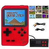 RXYYOS Consoles De Jeux Portable Retro FC, 3 Pouces Non répétitif 400 Jeux Classiques Console de...