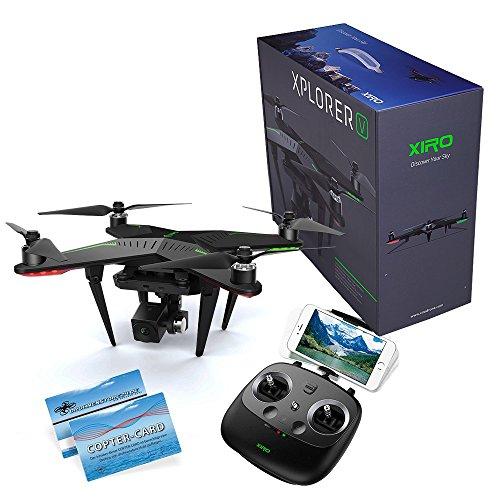 XIRO Xplorer V RTF Quadrocopter mit 3-Achs Gimbal und Full HD Kamera Copter-Card