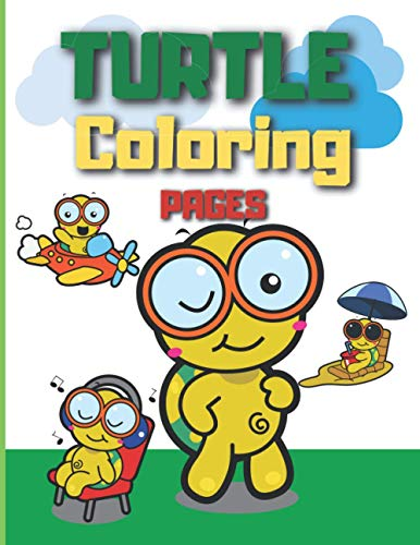 TURTLE COLORING PAGES: coloring pages for kids