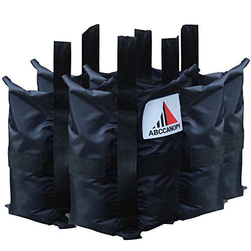 Abccanopy Premium Instant Shelters Weight Bags - Set of 4-40lb Capacity Per Bag