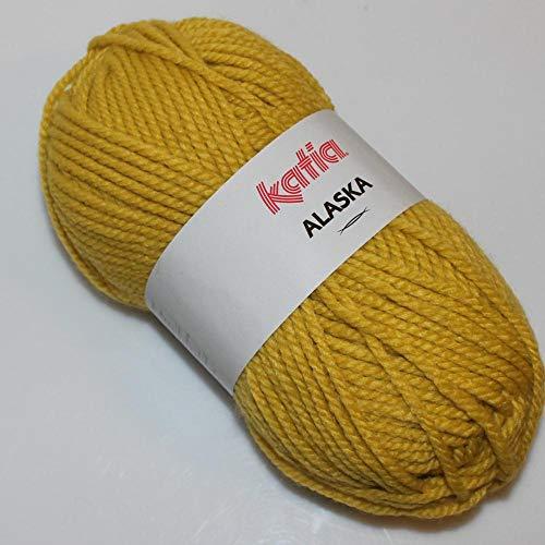 Lanas Katia Alaska Ovillo de Color Pistacho