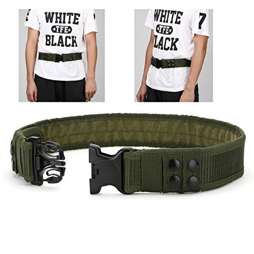 YAHILL Safety Security Tactical Belt Combat Gear Adjustable Heavy Duty Police Equipment Accessories...