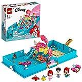 LEGO Disney Princess Il Libro delle Fiabe di Ariel, Playset con la Micro Bambolina della Sirenetta, Giochi da Viaggio per Bambini di 5+ Anni, 43176