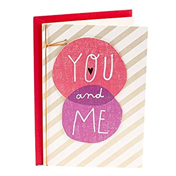 Hallmark Sweetest Day Card for Spouse or Significant Other  You & Me
