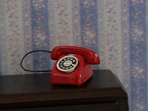 Wonham Dolls House - Miniatura (escala 1:12), color rojo