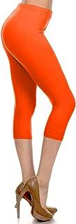 Leggings Depot High Waisted Capri Leggings - Soft & Slim - 37+ Colors