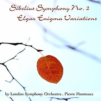 Sibelius: Symphony No. 2 - Elgar: Enigma Variations