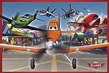 REINDERS Disney's Planes - Flughafen - Poster 91,5 x 61 cm