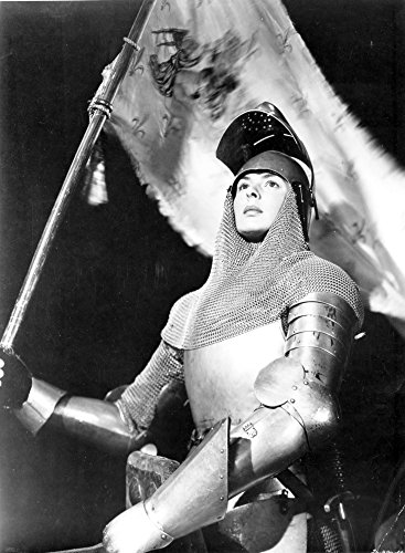 Ingrid Bergman wearing armour for Joan of Arc Photo Print (24 x 30) -  Celebrity Archives, CEL682043LARGE