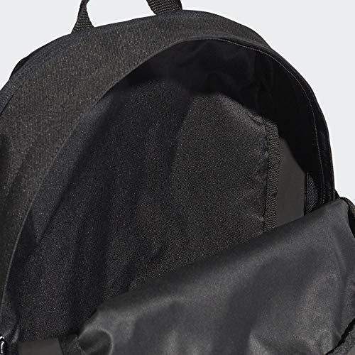 adidas 3-Stripes Power Backpack Medium - Black/White/White, 16 x 32 x 44 cm