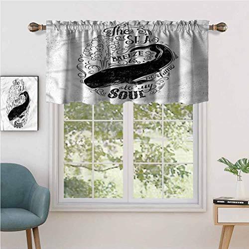Hiiiman Sunshine Blockout cortina Breeze is Perfume to My Soul, juego de 2, 137 x 91 cm para salón comedor interior