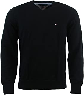 Tommy Hilfiger Men's V-Neck Long Sleeve Pacific Pullover...
