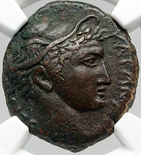1000 GR KATANE in SCILY Authentic Ancient RARE R1 Greek C coin XF* NGC
