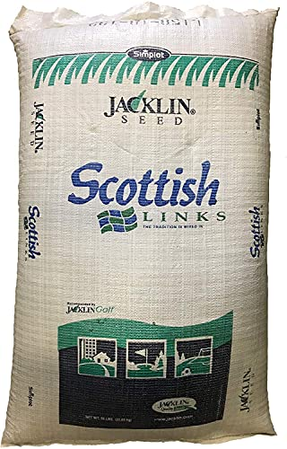 Jacklin Seed - Scottish Links - 100% Fescue   Certified Grass Seed (50 lbs (10,000 sq ft))