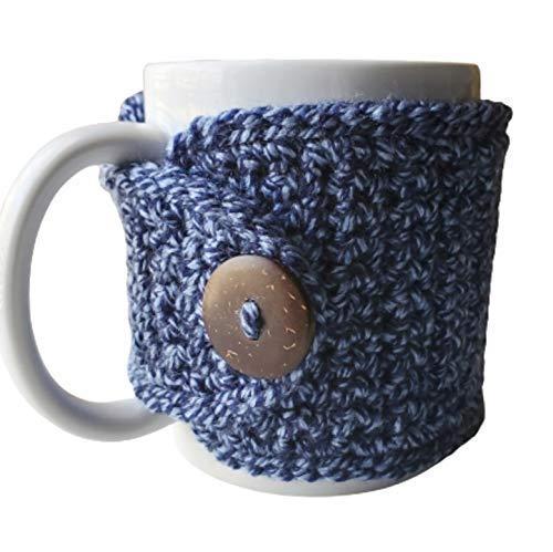 Navy Sale price Marled Year-end gift Mug Sleeve Cozy