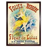 Wee Blue Coo Advert Theatre Cabaret Folies Bergere Lotus