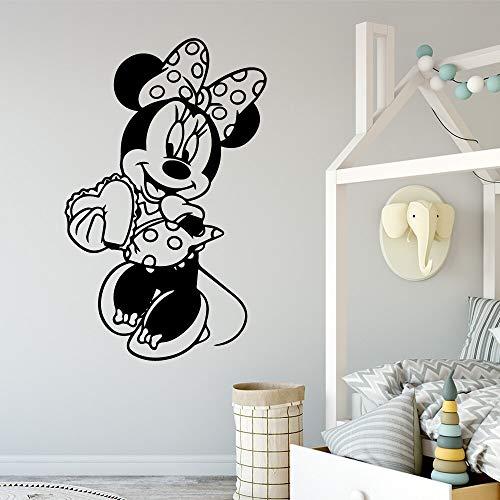 hetingyue Cartoon muis dans muur sticker home decoratie muur sticker waterdichte muur decal waterdichte decoratieve muurschildering