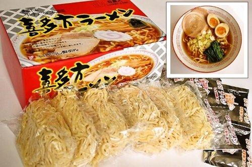 (五十嵐製麺) 喜多方 生ラーメン 6食セット
