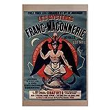 Baphomet Masonic Poster - [11'' x 17'']