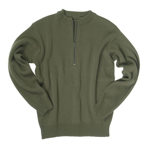 Pull-over Armée Acrylique (Vert - Taille L)