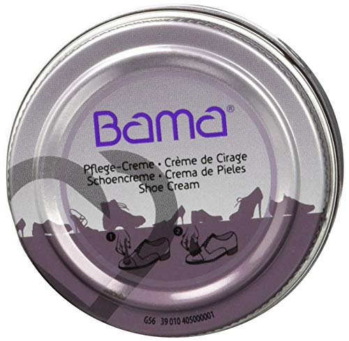 Bama Unisex-Erwachsene Pflegecreme 50 ml Bordeaux Schuhpflegeprodukt