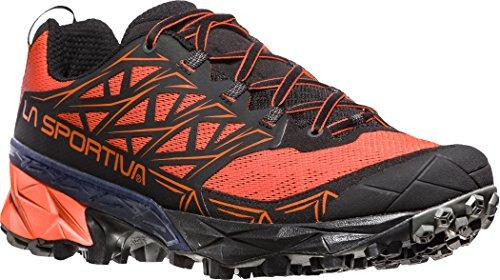 LA SPORTIVA Akyra, Scarpe da Trail Running Uomo, Multicolore (Tangerine/Black 000), 45 EU